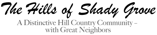 The Hills of Shady Grove